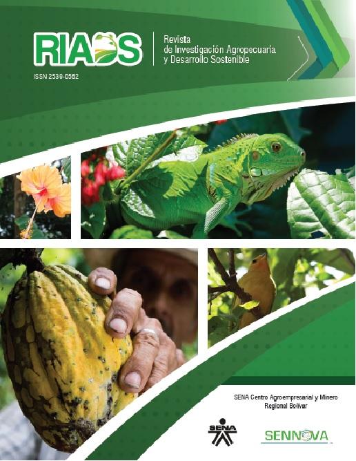 Revista de Investigación Agropecuaria y Desarrollo Sostenible - RIADS. N°1 Vol. 1 Año 2016.