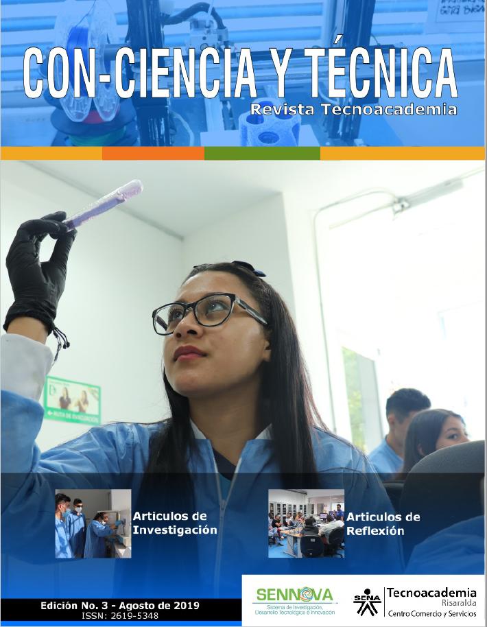 Portada Con-ciencia y Técnica: Revista Tecnoacademia
