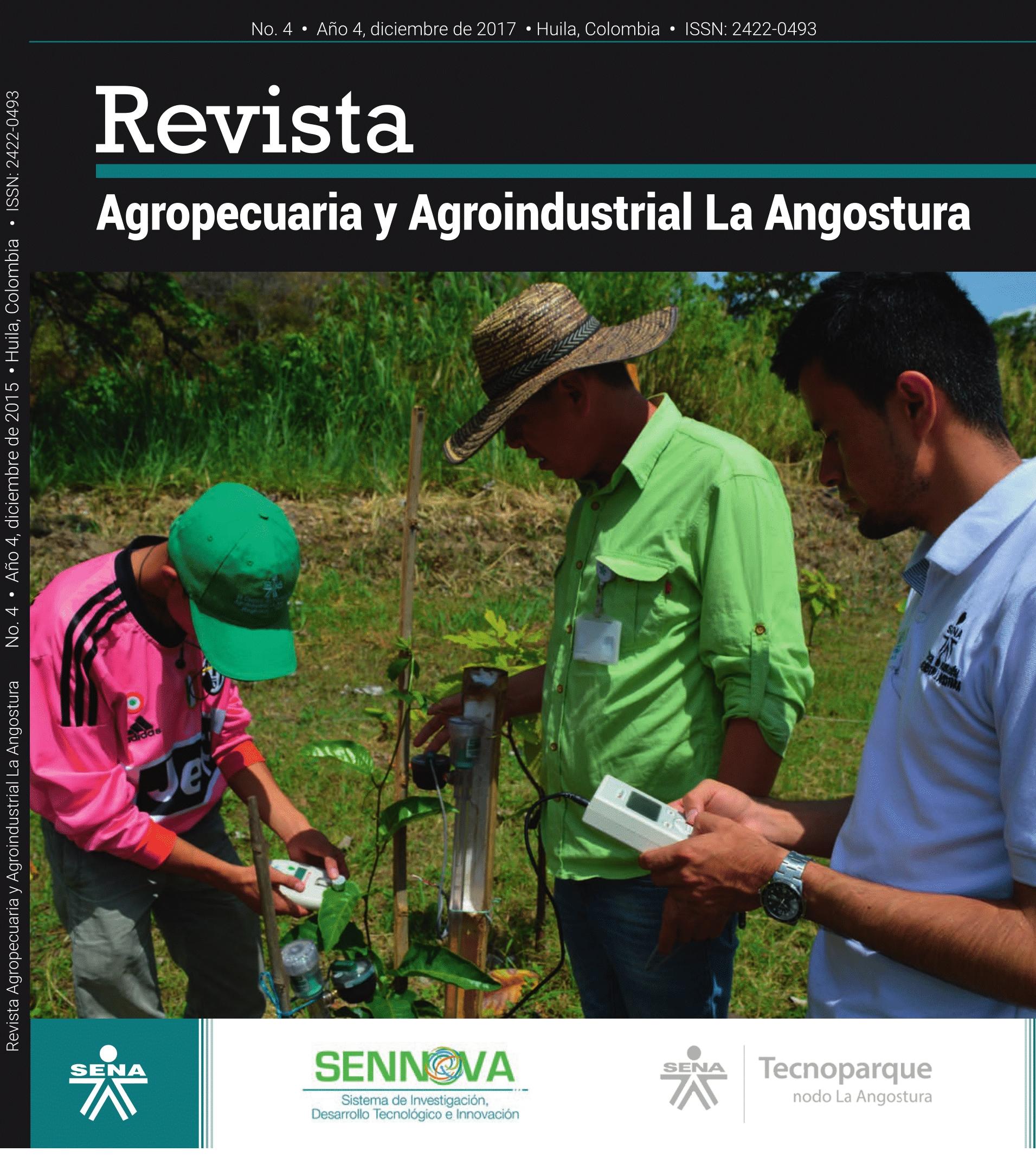 La revista Agropecuaria y Agroindustrial La Angostura se propone divulgar la labor que en el campo de la investigación aplicada, el desarrollo tecnológico y la innovación, nuestra institución realiza con proverbial consagración. De manera silenciosa, in