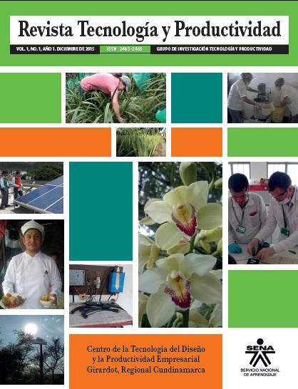 Revista Tecnología y Productividad